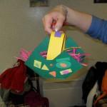 Activité fabrication des paniers de Pâques