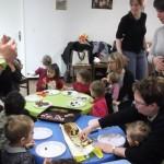 Peinture des hérissons + anniversaire de 2 petits