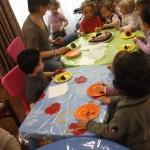 Activité fête des mères + anniversaire d'Emmanuel