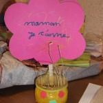 Activité fête des mères du premier groupe