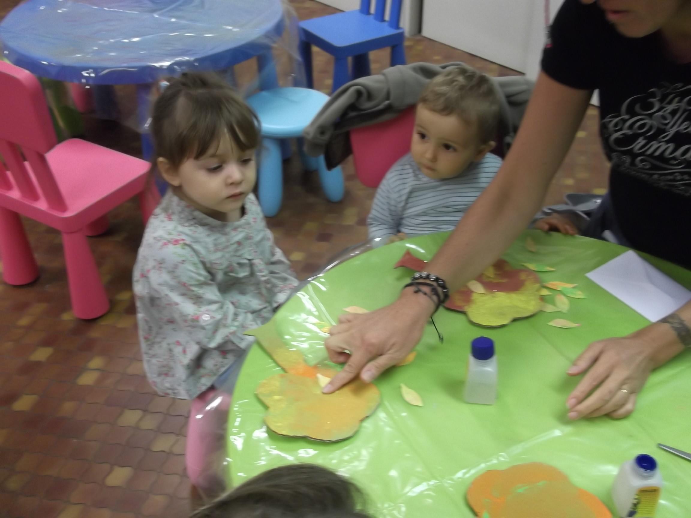 Les petits bambins activit manuelle collage - Activite manuelle jardinage ...