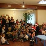 Arbre de Noël avec la présence des personnes agées