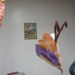 Activité papillon avec la peinture