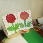 Activité fleurs de printemps