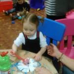 Activité petits paniers de Pâques