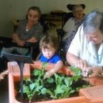 Activité jardinage à la maison de retraite St Joseph