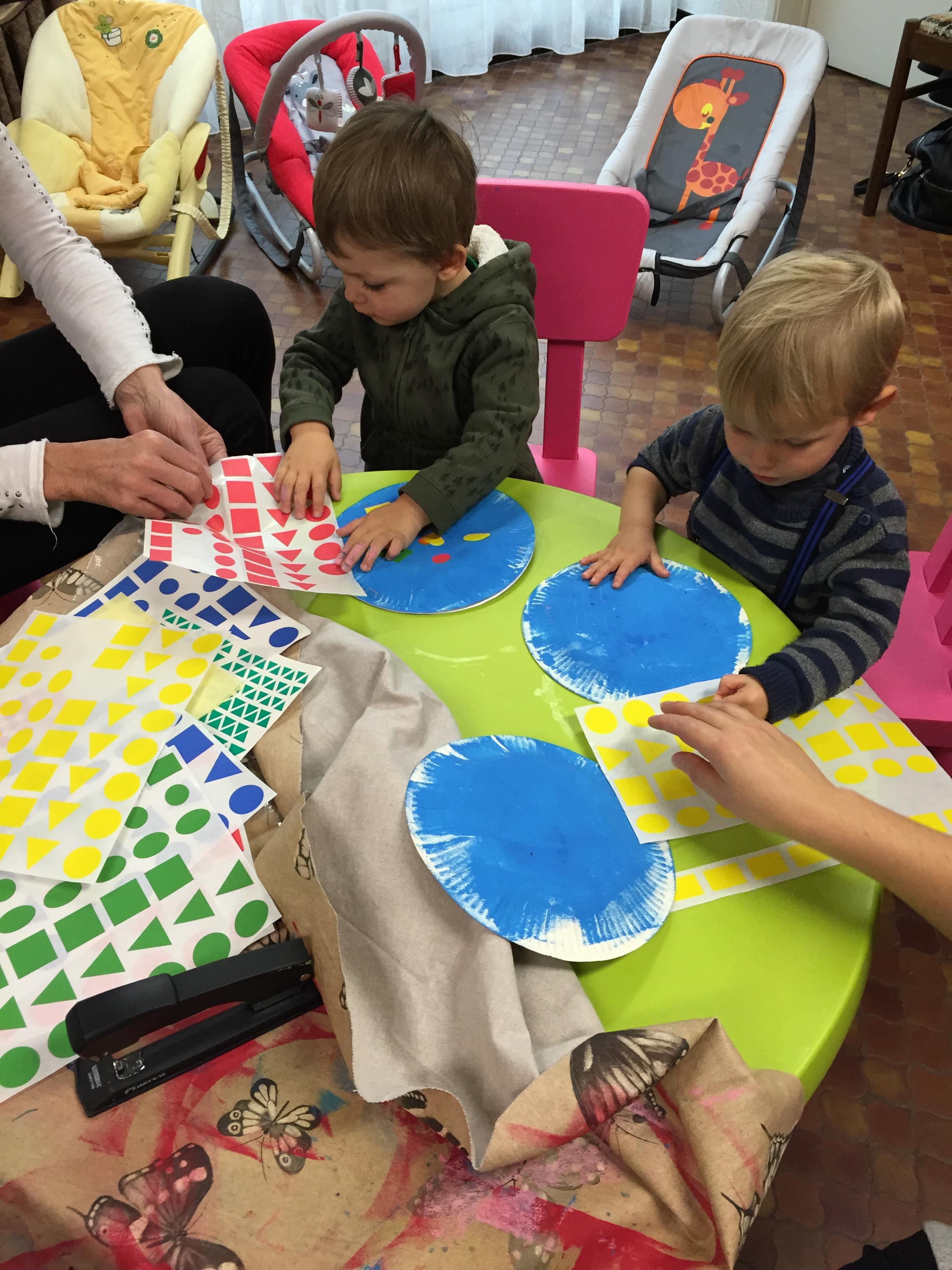 Les petits bambins activit fabrication d escargots - Activite manuelle jardinage ...