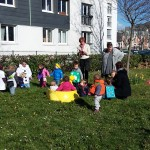 Carnaval au jardin partagé