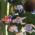 Goûter de fin d'année au parc